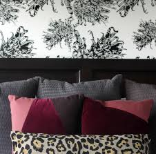 West Elm Bliss Sofa Bed by Master Bedroom Accent Wall With Wallpaper This Is Our Bliss