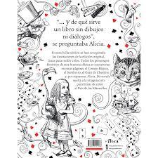 Alicia En El País De Las Maravillas Libro Para Colorear