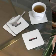 kuchenmonster kuchen essen kaffee trinken vesper untersetzer weiß