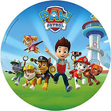 cake toppers photo mat paw patrol 12 design 110 x 34 cm 20 cm