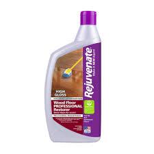 Hardwood Floor Buffing And Polishing by Rejuvenate 32 Oz Professional High Gloss Wood Floor Restorer