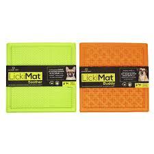 Amazoncom Hyper Pet Lickimat Slow Feeder Dog Mat For Food Treats