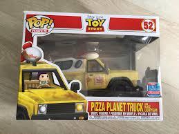 100 The Pizza Planet Truck Funko Pop Disney Pixar Toy Story With Buzz