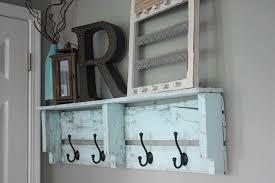 Shelf Dandy Ideaus Shelves Diy Pallet Towel Rack S Free