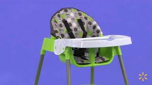 Evenflo Expressions Easy Fold High Chair by Evenflo Convertible High Chair Dottie Lime Walmart Com