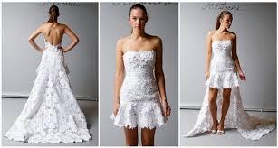 7 Lovely Little White Wedding Dresses for the Reception