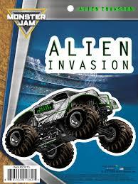 100 Monster Truck Decals Jam Alien Invasion Car Auto Stickers Walmartcom