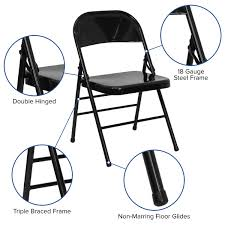 HERCULES Series Triple Braced & Double Hinged Black Metal Folding Chair Relaxation Chair Xl Futura Be Comfort Bleu Encre Lafuma Polywood Emerson All Weather Folding Chair Ashley The 19 Best Stacking And Chairs 2019 Champ Series Versatile Resin Wedding With Foot Caps White Stakmore Solid Wood Espresso Finish 2pk Grindleburg Ding Room Fniture Homestore Buy Kitchen Online At Shop Designer Fniture Merci Soft Edge 12 Side Hay Dark Brown Acacia Adirondack
