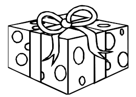 Birthday Gifts Coloring Pages