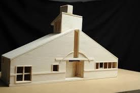wood model house plans