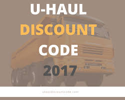 Uhaul Discount Code 2017 Get 20% Off Coupons Promo Codes ...