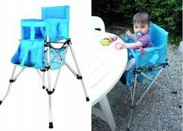 chaise bébé nomade charmant chaise pliante bebe ldda produit nomade repas haute