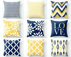 blau und gelb dekor dekoration ideen gelbes wohnzimmer