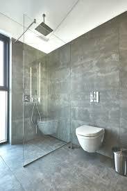 badezimmer raumhoch mit rinnen 60x120 cm anthrazit optisch