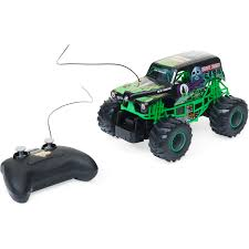 New Bright Monster Jam Radio Control Grave Digger 1:24 Scale | BIG W Webby Remote Controlled Rock Crawler Monster Truck Blue Buy Amazoncom Ford F150 Svt Raptor 114 Rtr Rc Colors New Bright Ff Jam Bursts Grave Digger 112 24g 2wd Alloy High Speed Control Off 124 Scale Maxd Walmartcom Electric Redcat Volcano18 V2 118 Mons Rc Trucks Suppliers And Manufacturers At Big Hummer H2 Wmp3ipod Hookup Engine Sounds Shop 4wd Triband Offroad C2035 Cars 30mph Control Brushed Gizmo Toy Ibot Road Racing Car Monster Truck Toys Array