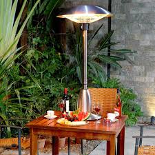 Propane Patio Heat Lamps by Heat Up Your Patio Outdoor Space Heaters