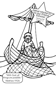 Coloring Page Fisherman Jobs 46