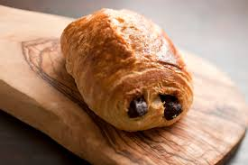 Chris Our Event Catering Director Coordinator Loves To Enjoy Chocolate Croissants