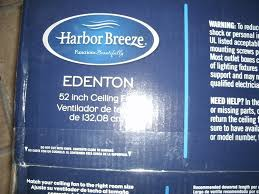 Harbor Breeze Ceiling Fan Issues by Harbor Breeze 52 In Edenton Aged Bronze Ceiling Fan With Light Kit