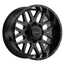 100 20 Inch Truck Rims SET 4 X9 12 8X170 GFX TM4 BLACK WHEELSRIMS INCH 59091