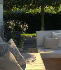 pacific lounge set 3 sitzer inkl tisch teak natur kissen ecru