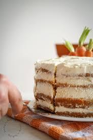 amerikanischer carrot cake mit frischkäse creme