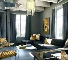 schwarz gold wohnzimmer dekoration ideen silber