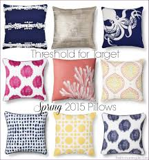 bedroom large decorative pillows blue and white throw pillows