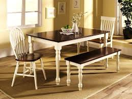 Black Farm Table Furniture Farmhouse Dining Chairs Kitchen Corner Rustic