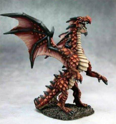 Reaper Miniatures Fire Dragon Hatchling