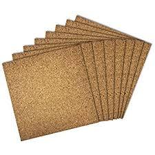 cork sheet plain 24 x 36 x 1 2 home kitchen