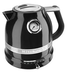 Electric Water Boiler Tea Kettle From The KitchenAid Pro Line Onyx Black Item KEK1522OB