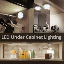 24 pack led counter kitchen closet wine cabinet lighting