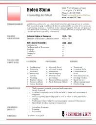 Accounting Resume Examples Accountant Assistant Sample 4 Account Example 2014 Home Improvement