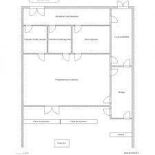 plan cuisine collective cuisine collective 2 plan 7 pièces 192 m2 dessiné par m