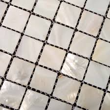 of pearl tile shower liner wall backsplash