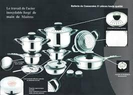 batterie de cuisine pour plaque induction ustensile cuisine induction excellent batterie cuisine pcc with