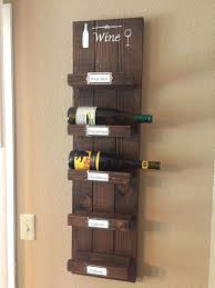 Diy Wood Wine Rack How To Shelving Ideas Wall Decor Woodworking Projects