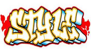The Word Graffiti Written In Gallery Drawing