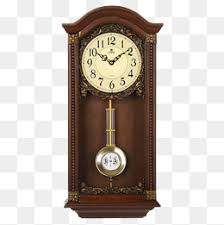 Vintage Wall Clock Bell Watch PNG Image