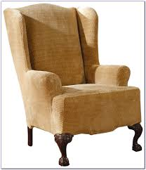 Furniture: Surprising Chair Slipcovers Target Design With Cool And ... Slipcover For Dayton Chair Arm Host Chairs Ethan Allen Fniture Slipcovers Swivel Covers Tub Ding Room Slip Home Decor Shop Sure Fit Stretch Stripe Wing On Sale Free Ideas Tie Back And Corseted A Fun Way To Dress Up Plain Double Diamond All Modern Rocking Classic Two Piece Twill Astoria Grand Polyester Parson Reviews Wayfair Elegant Wingback Pastrtips Design Amazoncom Surefit Duck Solid Natural