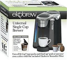 One Cup Keurig Universal K Brewer For And Cups Made By Rivo