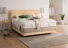 betten wohnung einrichten boxspringbett schlafzimmer