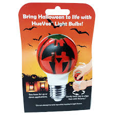 halloweeng light bulbs flicker bulb black metal