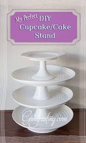 The Perfect DIY Cupcake Cake Stand FIX