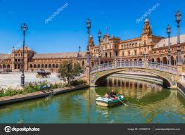 Spanish Square In Sevilla Stock Editorial Photo © Bloodua 131932712