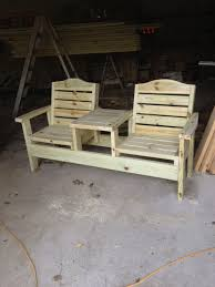 Side By Side Deck Chairs | Out Door Wood Furniture In 2019 ...