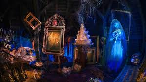 Scariest Halloween Attractions In California by Haunted Mansion Disneyland Park