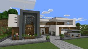 100 Modern Hiuse My Take On A Modern House Minecraft