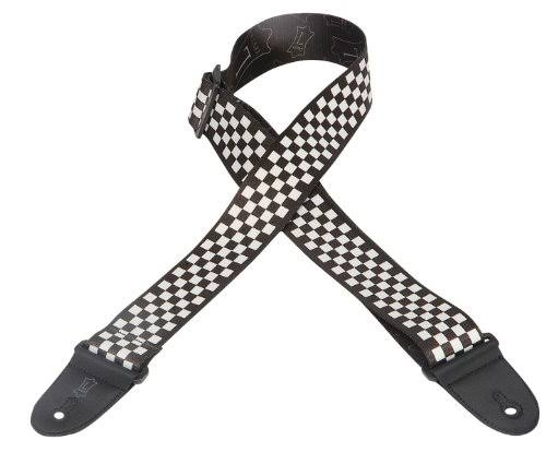 "Levy's Leathers MP28 Polyester Guitar Strap - Checkerboard, 2"" x 60"""